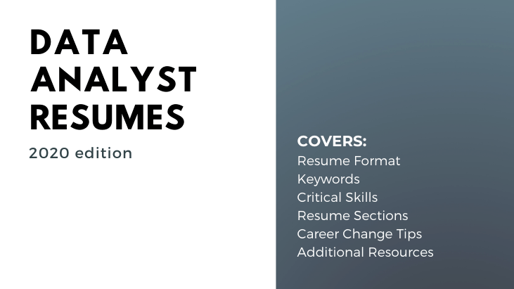Data Analyst Resumes Article Contents