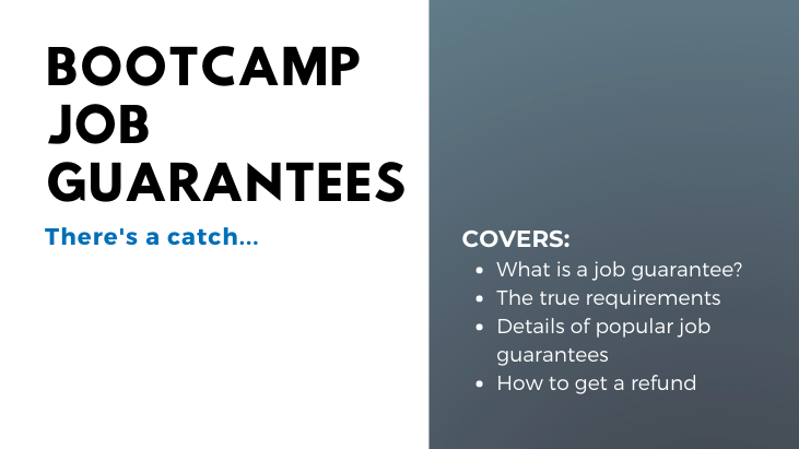 Bootcamp Job Guarantees