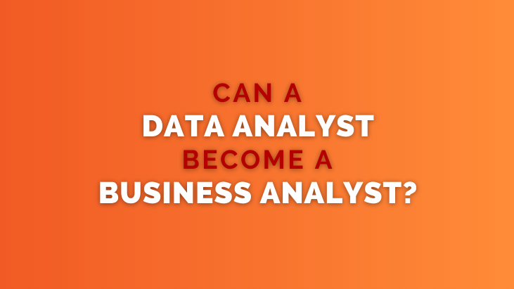 Can a Data Analyst Become a Business Analyst