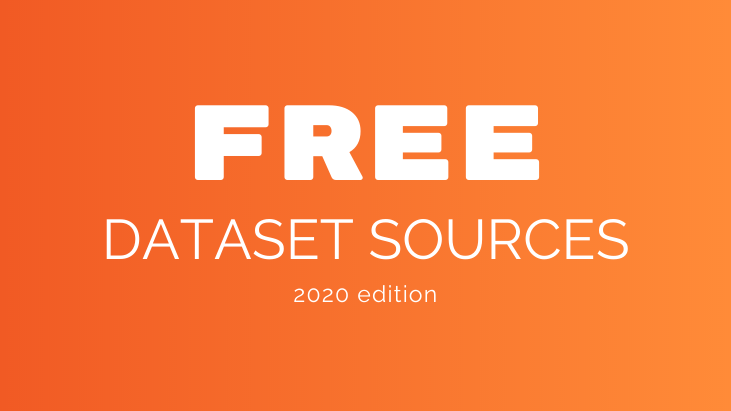 Free Dataset Sources