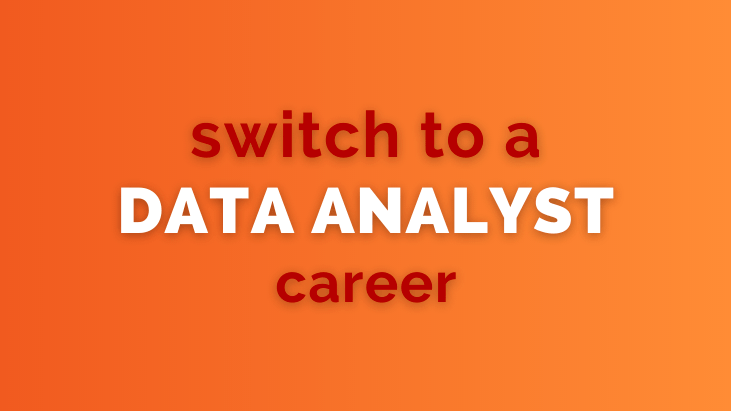 career change to data analyst