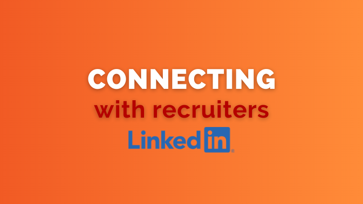 connecting with recruiters on LinkedIn