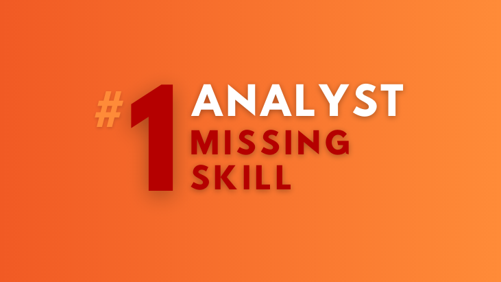 data analyst skill missing